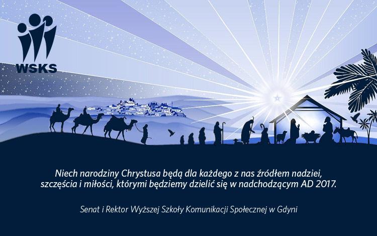 Życzenia świąteczne - WSKS Gdynia
