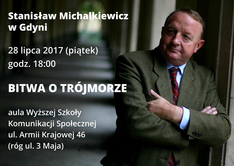 Spotkanie ze red. Stanisławem Michalkiewiczem w Gdyni